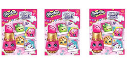 Shopkins 96 Pages Coloring & Activity Book X 3