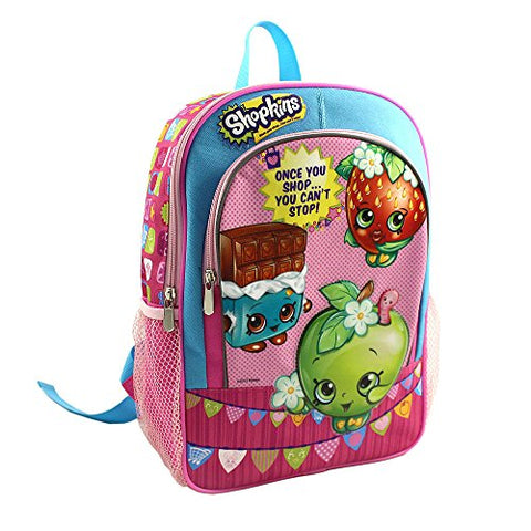 Shopkins - Once You Shop...You Cant Stop! 14 inch Backpack