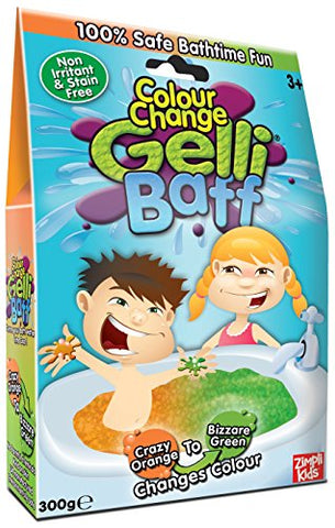 Zimpli Kids Crazy Orange Baff Color Change Box, 300g