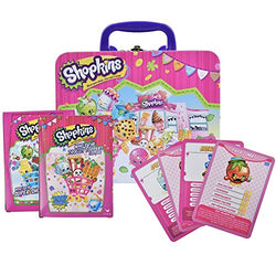 Shopkins Top Trumps Collectors Tin with Who's The Super Shopper Card Game Included