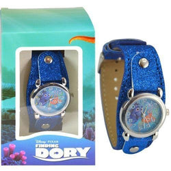Finding Dory Watch with Metal Face & Glitter Band in Window Box