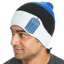 Doctor Who Tardis Slouch Beanie Hat