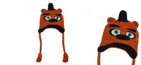 Five Nights at Freddys Fazbear Laplander Knit Beanie Hat - One Size Fits most