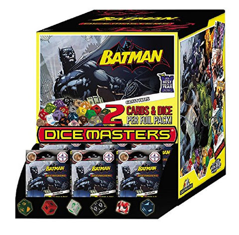 WizKids DC Dice Masters: Batman Gravity Feed - 10 Foil Packs