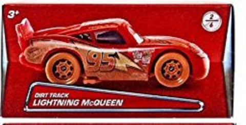 Disney/Pixar Cars 2017 Exclusive Dirt Track Lightning McQueen Die-Cast Vehicle 2/6