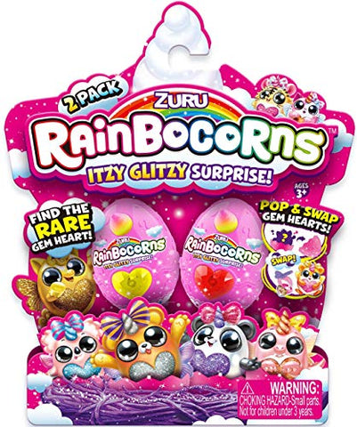 Rainbocorns - Itzy Glitzy Surprise Series 1 - 2 Pack