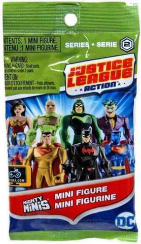 Justice League Mini Action Figure Series 2 Blind Pack One Piece