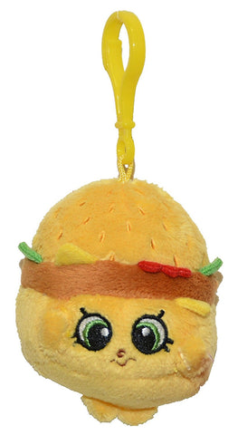 Just Play Shopkins Clip On Plush - Cheezey B