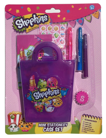 Shopkins Mini Stationery Case Set