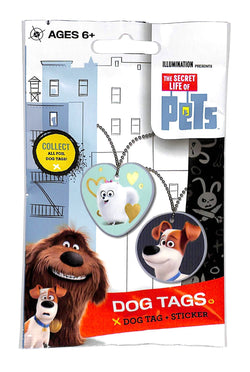 2016 The Secret Life of Pets Dog Tag Pack