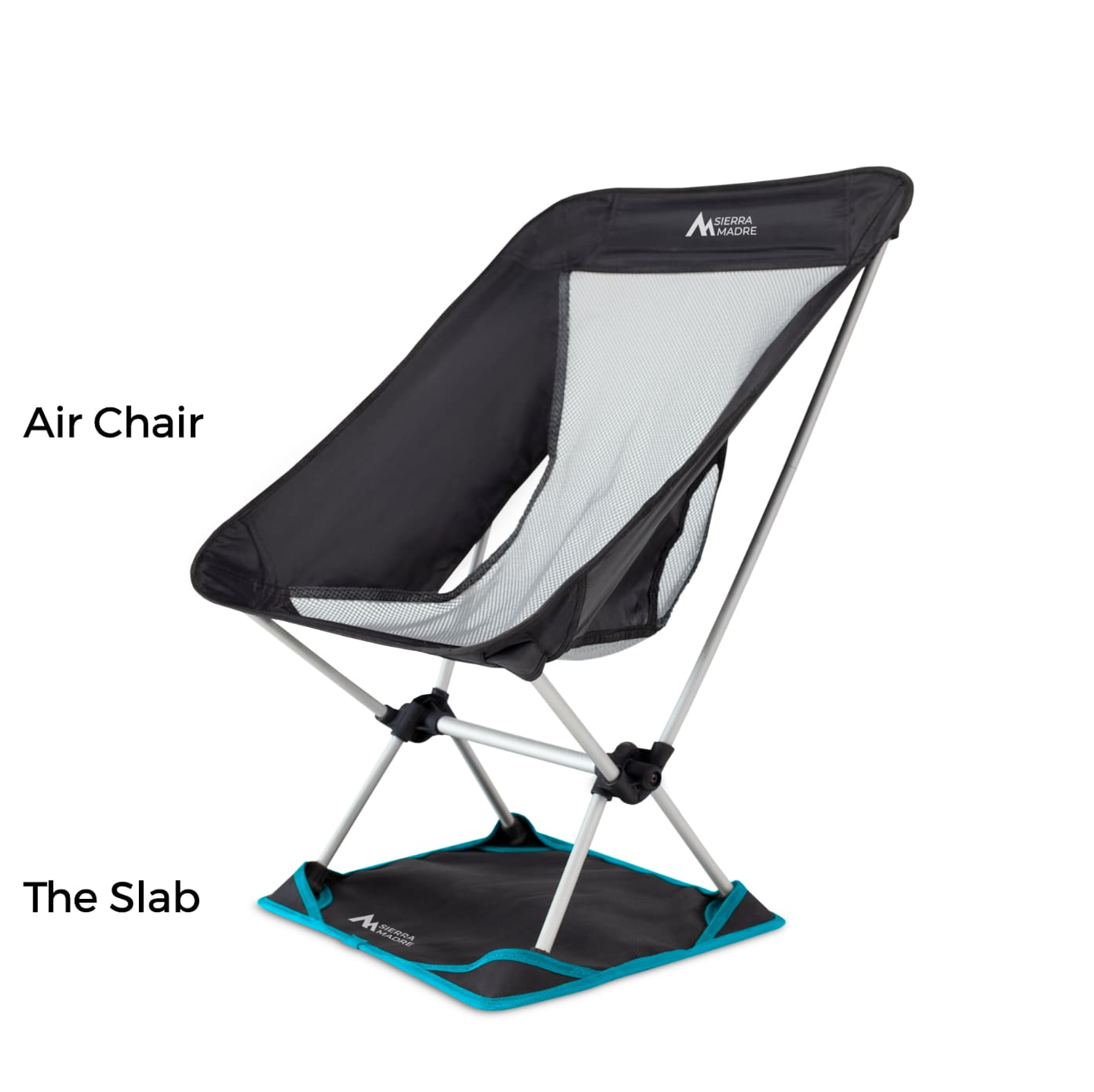 Air Chair + the Slab camp furniture for the pros
