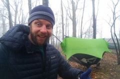 Erik Barstow, Veteran, Small business Owner, Thru Hiking Hammock camping legend!