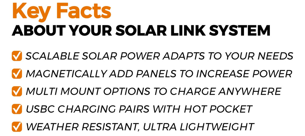 Solar Link System Key Facts
