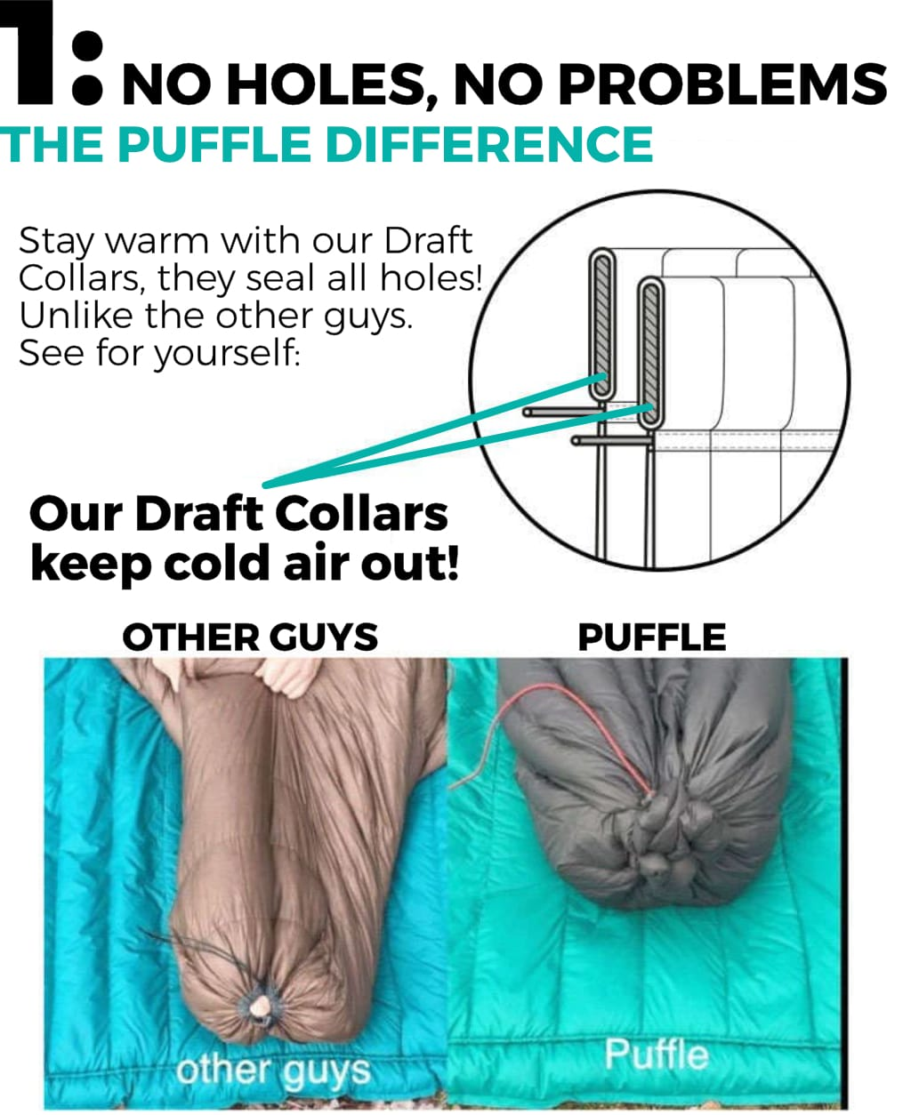The #1 Puffle Difference, no holes in the Foot Box