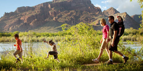 family hiking camping and outdoor experiences