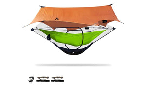Stratos | Two Part Modular Camping Hammock Protection + Gear Storage Hammock Shelter Sierra Madre Research