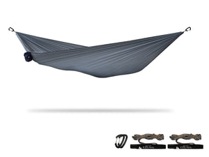 "xPlor | Pocket Camping Hammock for Compact ""Anywhere"" Comfort Hammock Sierra Madre Research Castle Rock / Yes please"