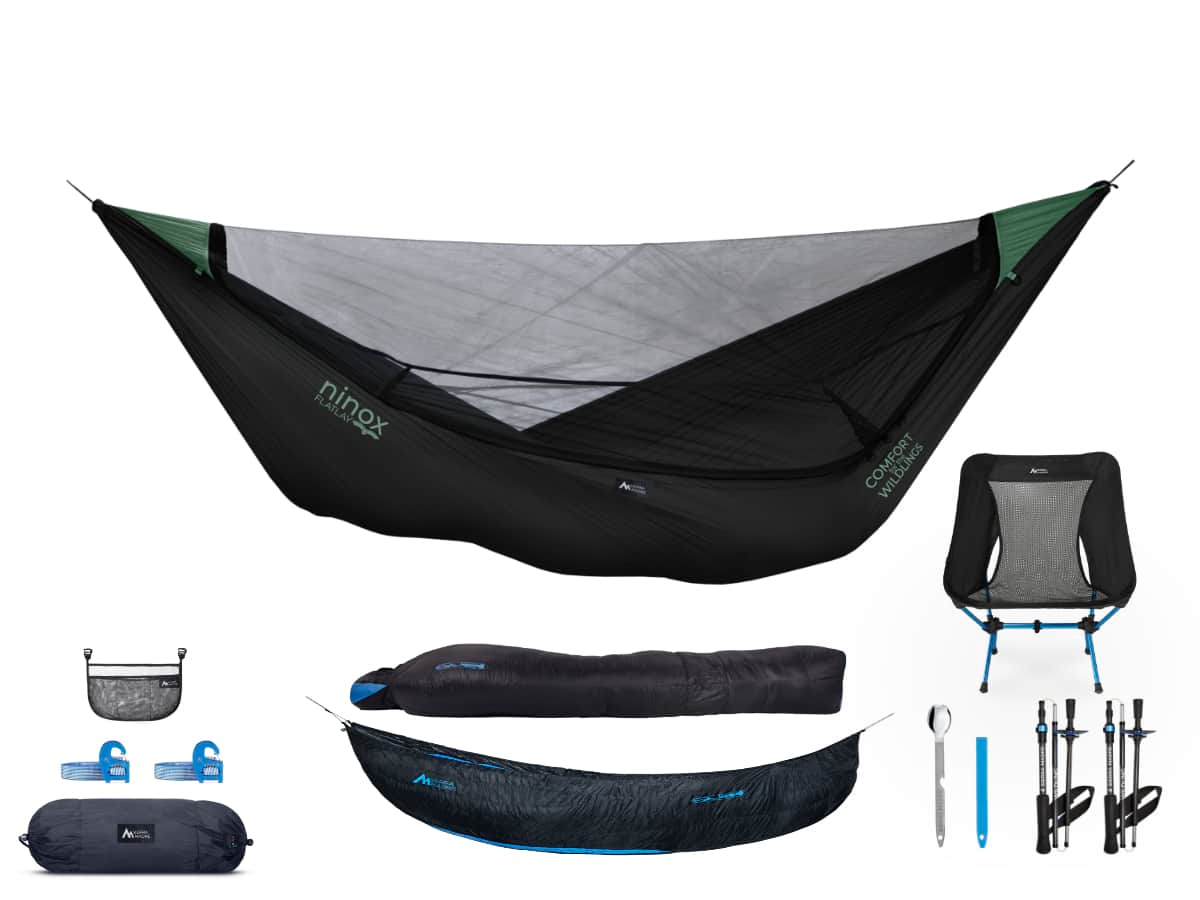 Hammock Camping Kits  Ninox SL Hammock / Inferno 30° Down (Top AND Under) / Add All Three!