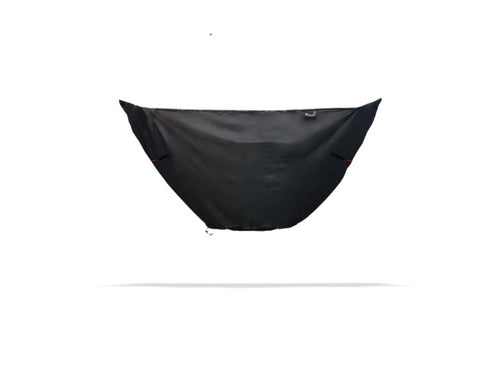 Nubé Winter Barrier morphs your Nubé into a 4th season Hammock Shelter perfect for winter hammock camping