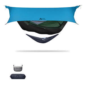 Ninox | Ultra-Comfy & Spacious Flat Lay Camping Hammock Camping System Sierra Madre Research