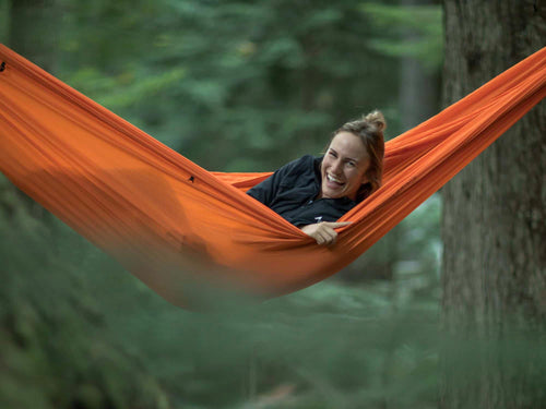 Pares | Spaciously Comfy Camping Hammock Weighs 15oz