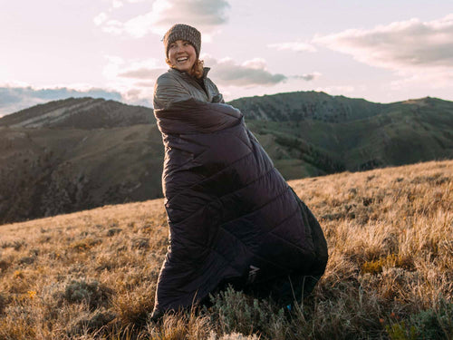 Puffle | 5 in 1 Ultra-Soft Camping Trail Quilt Warmth Down to 55°F