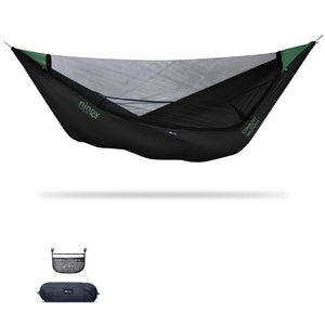 Ninox | Ultra-Comfy & Spacious Flat Lay Camping Hammock Camping System Sierra Madre Research Raven / No I have suspension already / No I don't mind rain