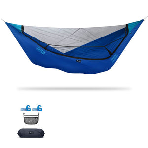 Ninox | Ultra-Comfy & Spacious Flat Lay Camping Hammock Camping System Sierra Madre Research Sky Dive / Yes! I'd love a set! / No I don't mind rain