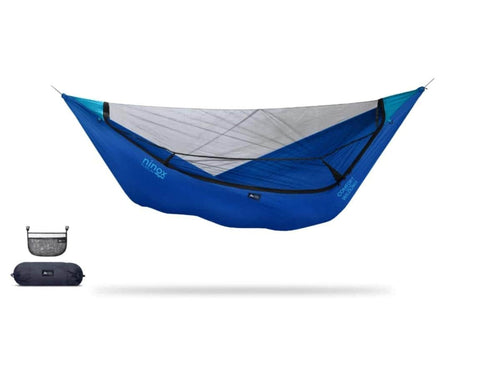 Ninox | Ultra-Comfy & Spacious Flat Lay Camping Hammock Camping System Sierra Madre Research Sky Dive / No I have suspension already / No I don't mind rain