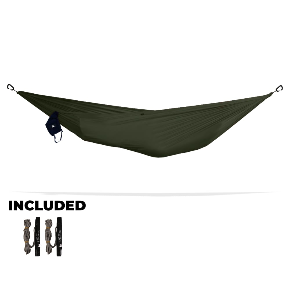 Special: Solo Hammock, EZSlings, and Carabiners