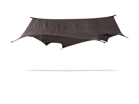 Stratos Fly protects any camping hammock from rain, wind, and sun