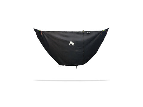 Stratos Barrier provides great 4th season protection for your Stratos Hammock Shelter, so you stay warm while Hammock Camping!