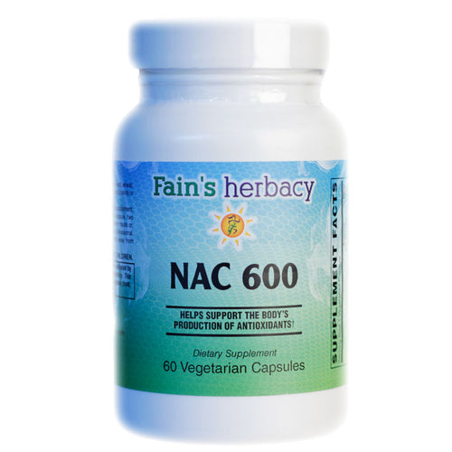 NAC 600 N-Acetyl Cysteine DELAYED DELIVERY