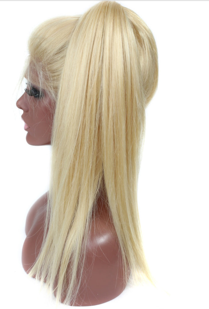 Girl's Natural Gold Luxe Blonde (613) Hair Wig - Jsluxurycollection.com