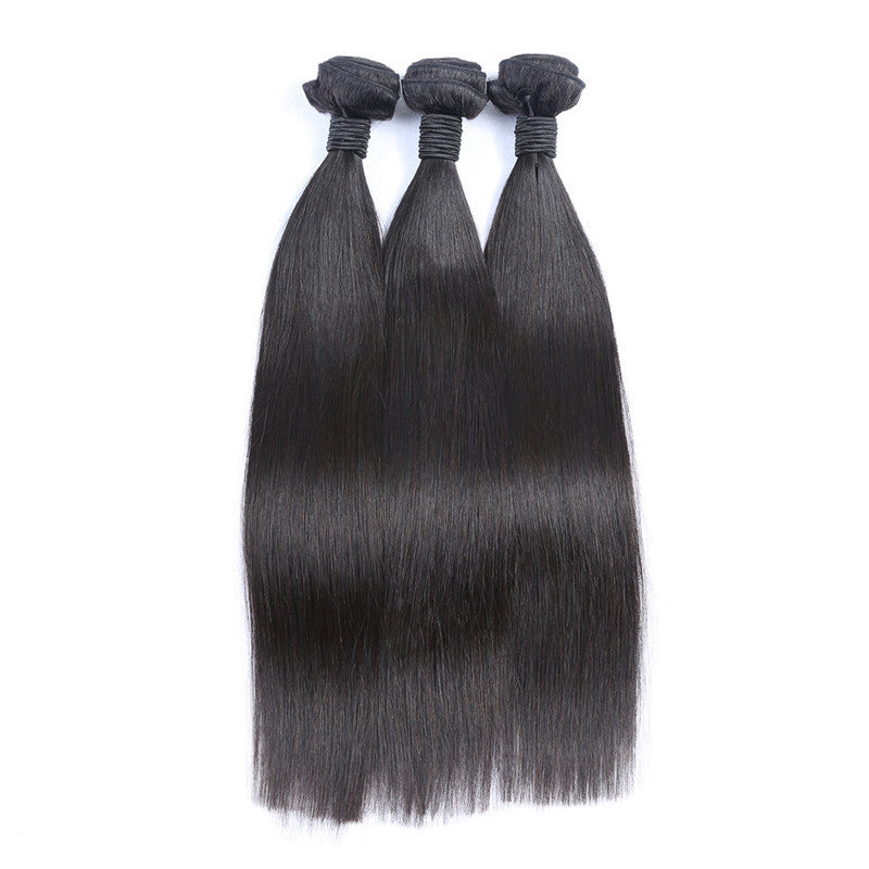 Relaxed Straight Silky Virgin Hair