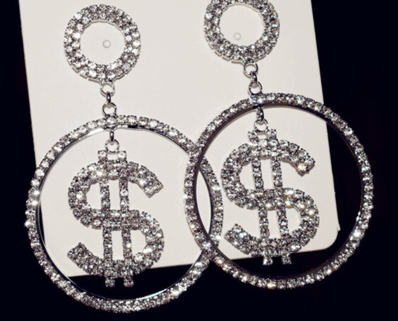 Luxe Money Earrings