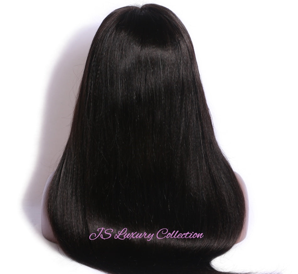 Women's Natural Luxe Kinky Straight 360 Wig - Jsluxurycollection.com
