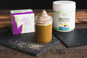 Vegan Pumpkin Pie Chia-Seed Pudding