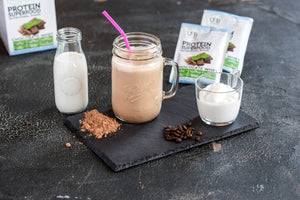 Mocha Whey Protein Superfood Shake