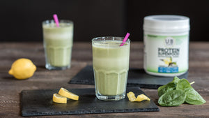 Vegan Lemon Green Smoothie