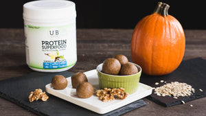 Vegan Pumpkin Pie Energy Bites