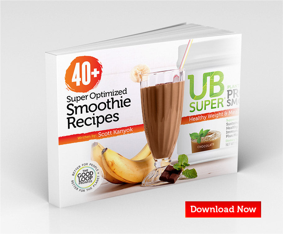 Download your FREE UB SuperSmoothie Recipe Book