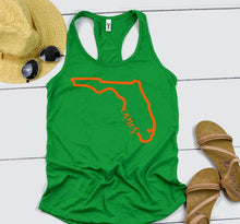 Miami Hurricanes // ladies tank top