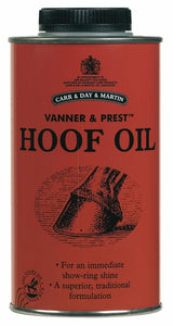 Horse Vanner and Prest Hoof Oil-500 ml