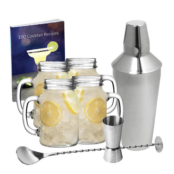 Drinking Jar Koktajl set