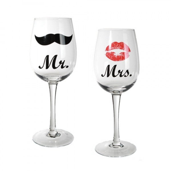 Mr and Mrs kozarca za vino