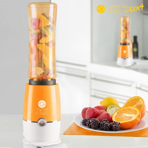 Smoothie maker twist and take