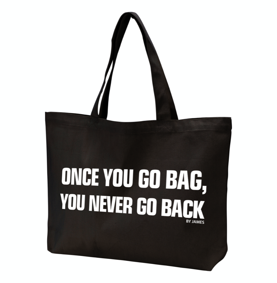 BY JAMES -ONCE YOU GO BAG - NET (BLACK)