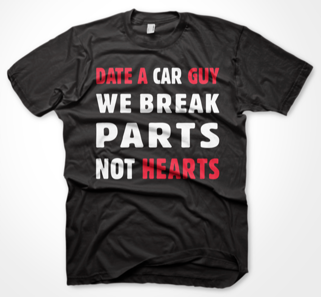 DHB - WE BREAK PARTS TEE - SORT