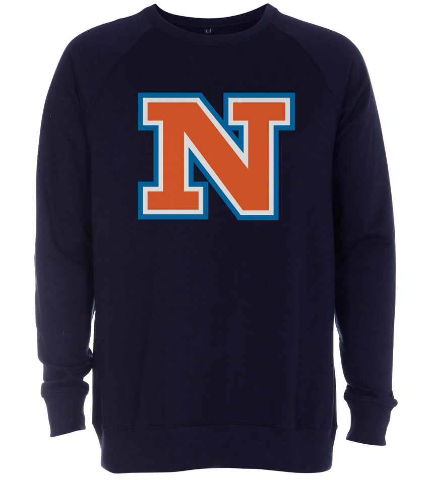 NATHOLDET - CREWNECK - NAVY